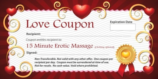 15-Minute Erotic Massage Coupon