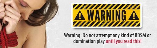 BDSM Warning