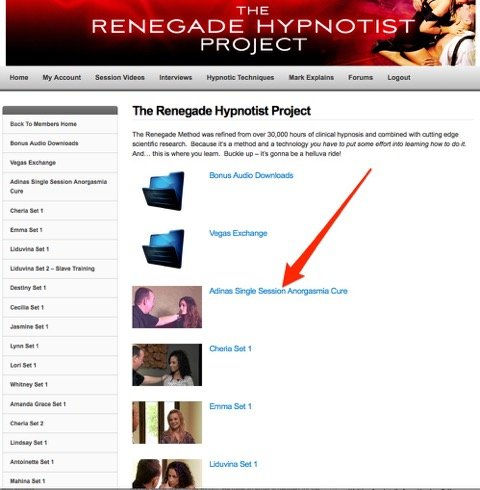 The Renegade Hypnotist Project