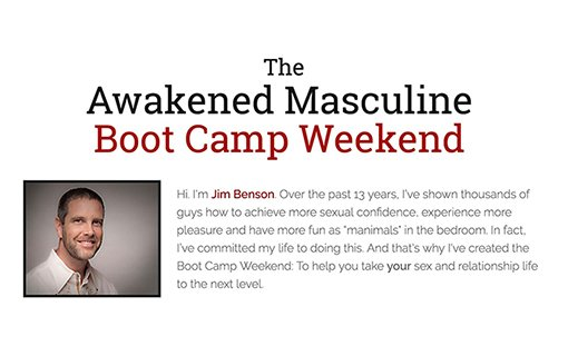 Men's Boot Camp For Sexual Confidence
