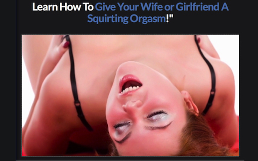 Squirting Orgasm Masterclass