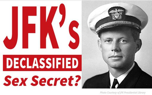 JFK's Declassified Sex Secret (FREE Book)