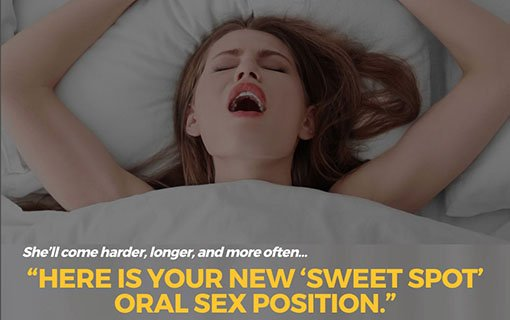New Oral Sex Pillow Position