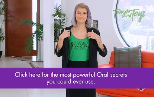 Oral Sex Tip: Multitasking Mouth